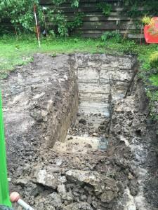 Afgraven tuin M. van Dam