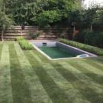 Tuin gras maaien