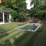 Grasmaaien tuin